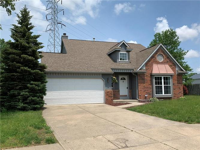 1223 GREEN RIVER Court Indianapolis, IN 46229   MLS 21643945   photo 1