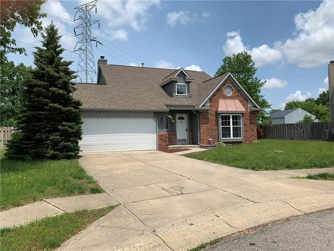1223 GREEN RIVER Court Indianapolis, IN 46229   MLS 21643945   photo 2