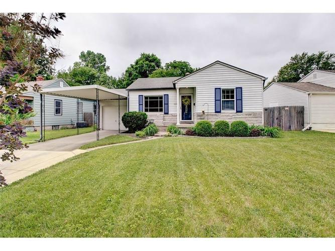 5236  Kingsley Drive Indianapolis, IN 46220 | MLS 21643976