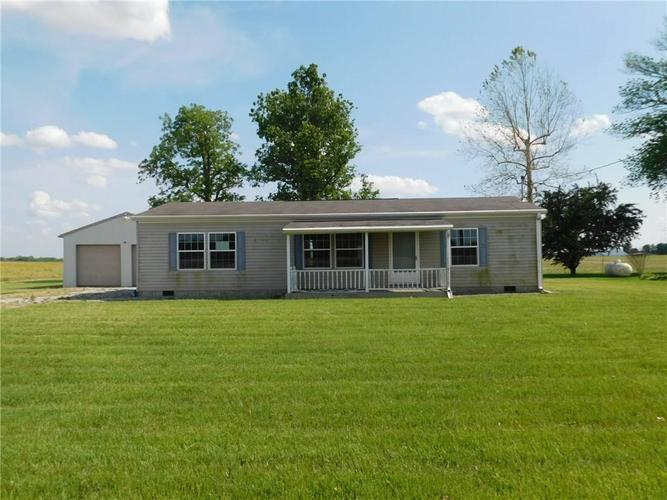 4759 W State Road 244  Milroy, IN 46156   MLS 21644849