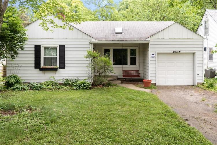 2206 E 56th Street Indianapolis, IN 46220 | MLS 21645276