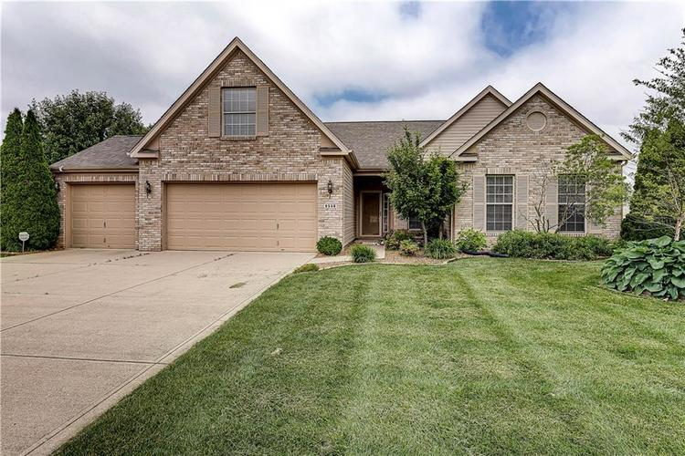 6556  Yorkshire Circle Zionsville, IN 46077   MLS 21645585