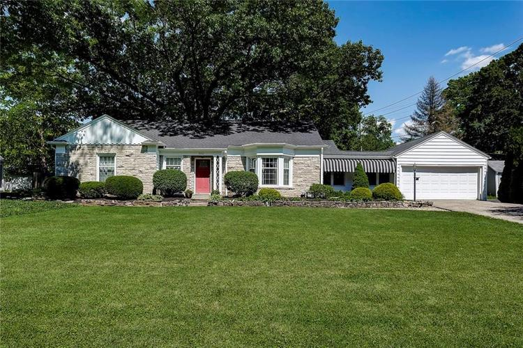 5921 CRESTVIEW Avenue Indianapolis, IN 46220 | MLS 21646292 | photo 1