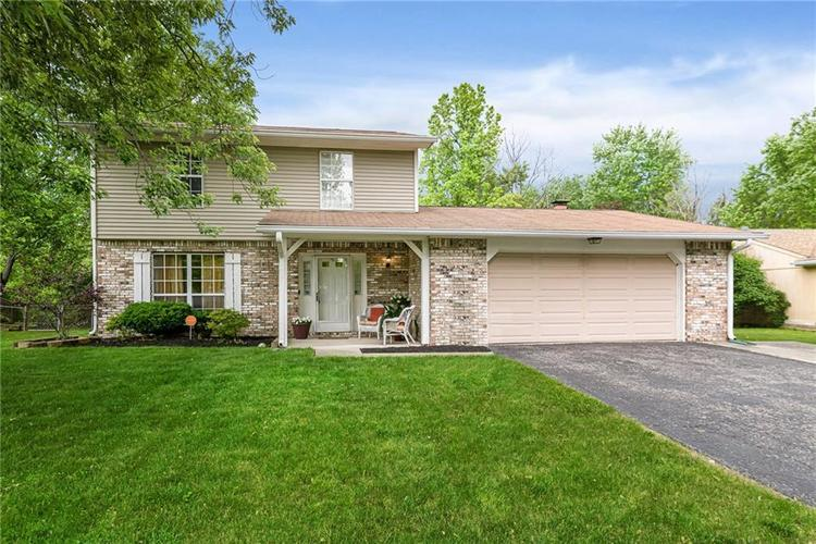4026 Hollow Creek Drive Indianapolis, IN 46268 | MLS 21646316 | photo 1