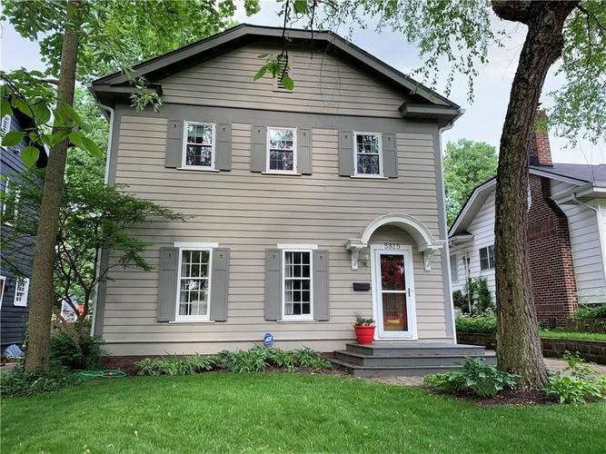 5325 Central Avenue Indianapolis, IN 46220 | MLS 21646761 | photo 1