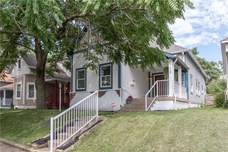 1105 Larch Street Indianapolis, IN 46201   MLS 21646983   photo 1