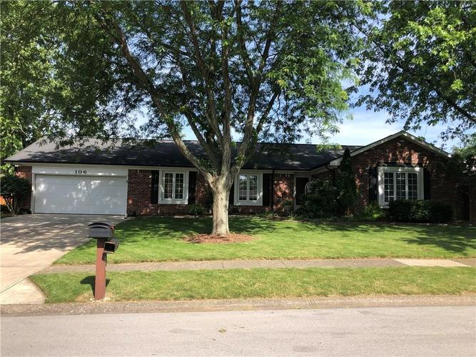 106  Willowood Lane Fishers, IN 46038 | MLS 21647415