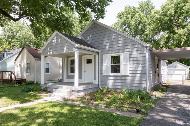 4941 N RALSTON Avenue Indianapolis, IN 46205 | MLS 21647462 | photo 1