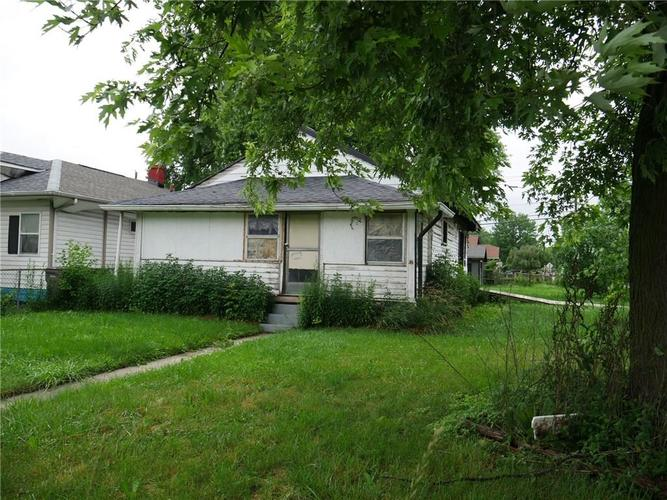 4826 E 21ST Street Indianapolis, IN 46218 | MLS 21647771