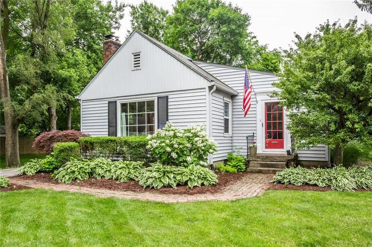 2411 E Northgate Street Indianapolis IN 46220 | MLS 21647804 | photo 1
