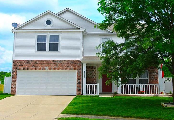 8215  Ossian Court Camby, IN 46113 | MLS 21648110