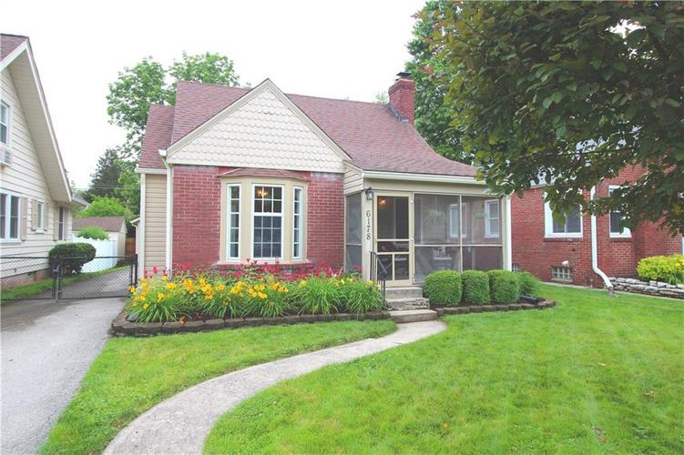 6178 Rosslyn Avenue Indianapolis, IN 46220 | MLS 21648279 | photo 1