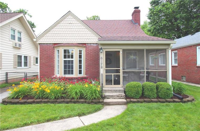 6178 Rosslyn Avenue Indianapolis, IN 46220 | MLS 21648279 | photo 2