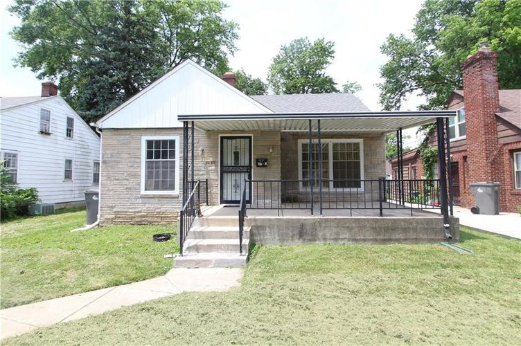 3630 N Chester Avenue Indianapolis, IN 46218 | MLS 21649674 | photo 1