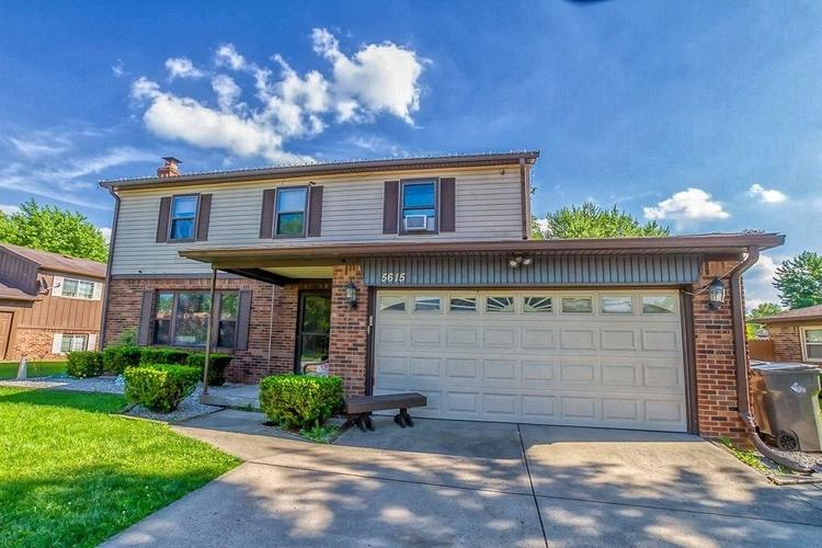 5615  Hill Rise Drive Indianapolis, IN 46237 | MLS 21650439