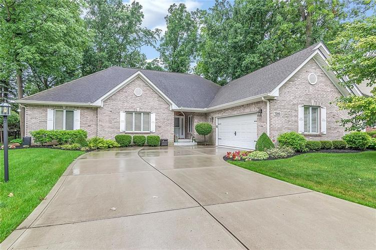 7595 Timber Springs Drive S Fishers, IN 46038   MLS 21650565   photo 1