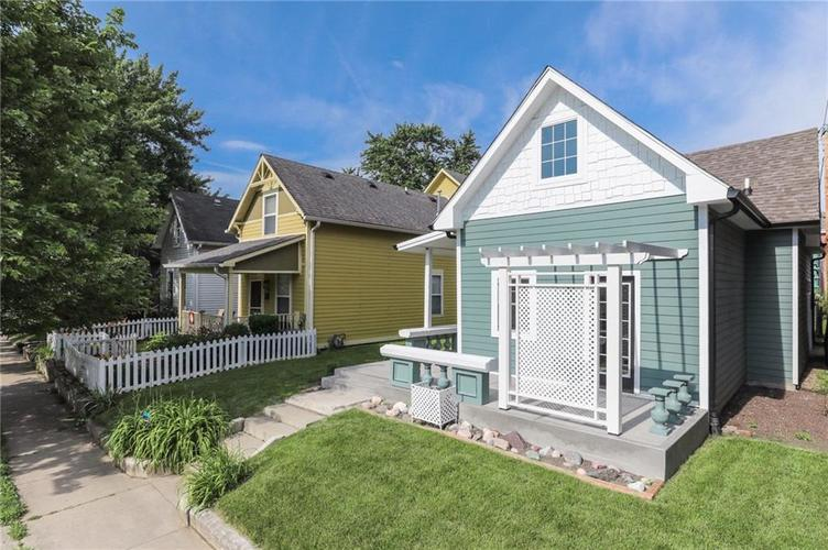 140 N ARSENAL Avenue Indianapolis IN 46201 | MLS 21650791 | photo 1