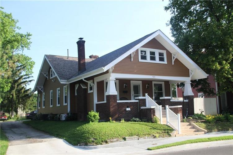 949 E Jefferson Street Franklin, IN 46131 | MLS 21651135