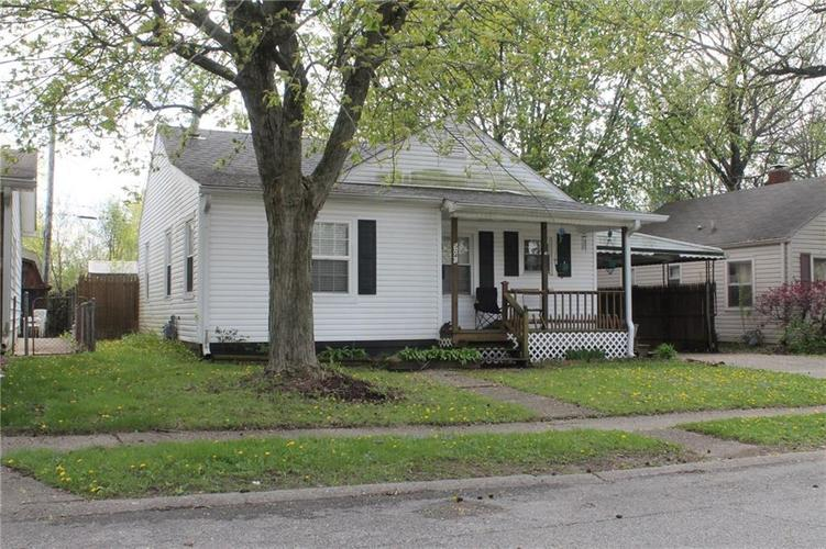 5241 E 20th Place Indianapolis, IN 46218 | MLS 21651292