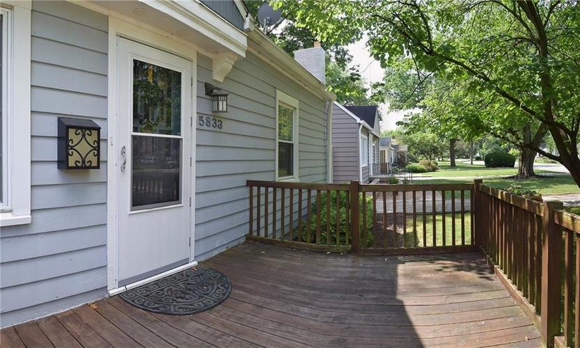 5833 Norwaldo Avenue Indianapolis, IN 46220 | MLS 21652075 | photo 2