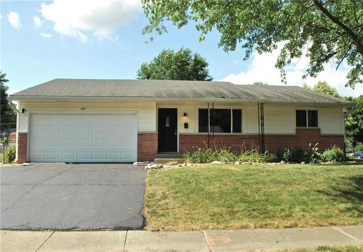 451  Hickory Lane Plainfield, IN 46168 | MLS 21652588