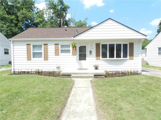 4758 N Mitchner Avenue Indianapolis, IN 46226 | MLS 21652771