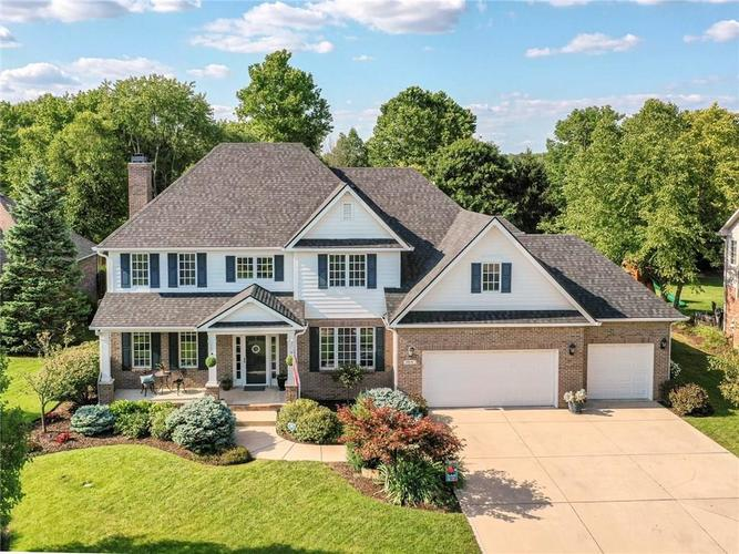 9816 NORTHWIND Drive Indianapolis, IN 46256   MLS 21653087   photo 1