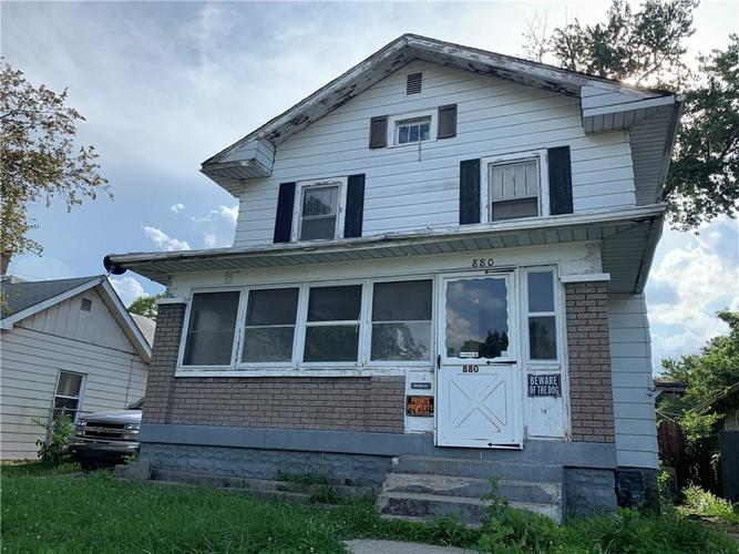 880 N Gladstone Avenue Indianapolis, IN 46201 | MLS 21653686