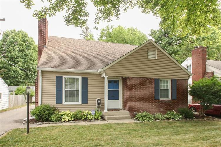 2412 E NORTHGATE Street Indianapolis, IN 46220 | MLS 21653732