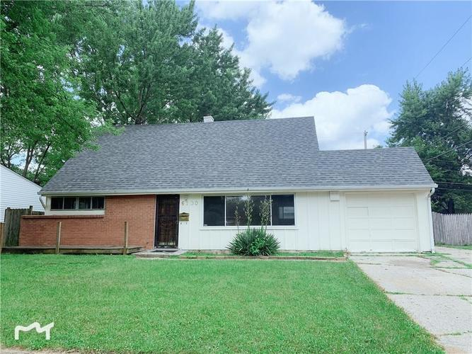 6130 E 43rd Place Indianapolis, IN 46226 | MLS 21653926 | photo 1