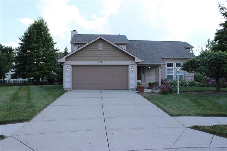 12707  Winding Creek Court Lawrence , IN 46236 | MLS 21653943