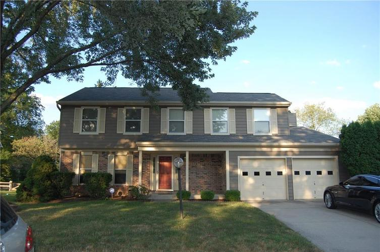 8521  Castle Ridge Lane Indianapolis, IN 46256 | MLS 21654135