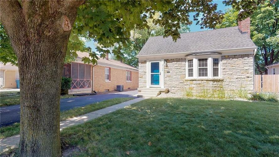 6138 NORWALDO Avenue Indianapolis, IN 46220 | MLS 21654277 | photo 1