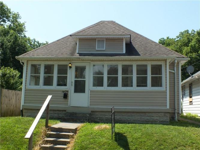 1405 E GIMBER Street Indianapolis, IN 46203 | MLS 21654287 | photo 1
