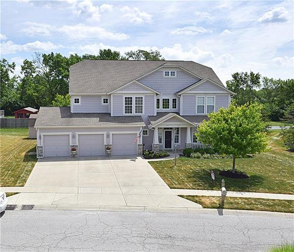 8129  Meadow Bend Lane Indianapolis, IN 46259 | MLS 21654362