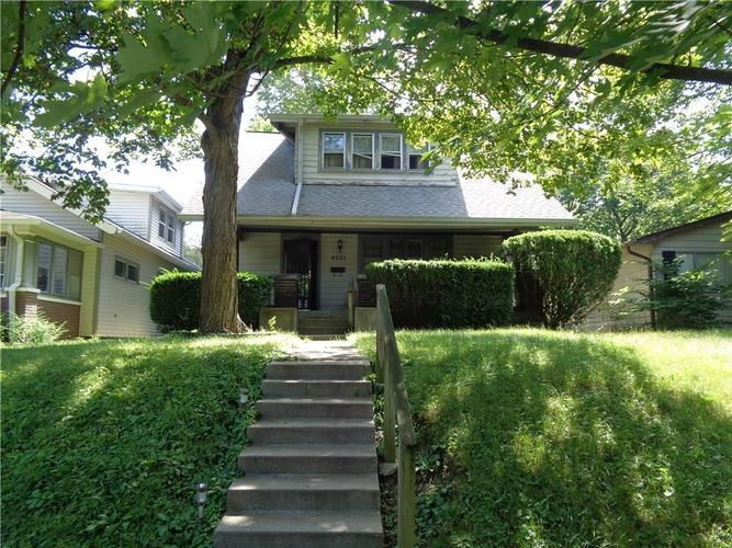 4221 N Sunset Avenue Indianapolis, IN 46208 | MLS 21654383