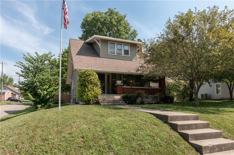 5202 E North Street Indianapolis, IN 46219 | MLS 21654424