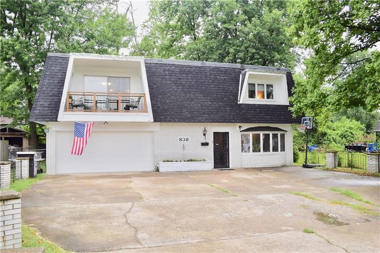 838 E Thompson Road Indianapolis, IN 46227 | MLS 21654542