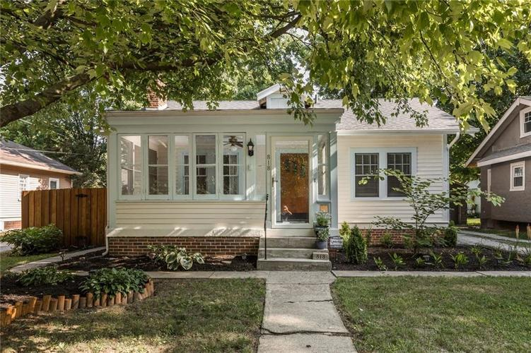 818  Paxton Place Indianapolis, IN 46220   MLS 21655571