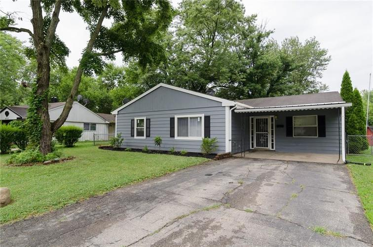 4008  Strathmore Drive Indianapolis, IN 46235 | MLS 21655615