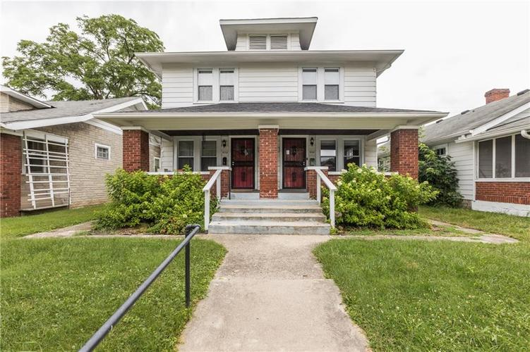4113-4115  Graceland Avenue Indianapolis, IN 46208 | MLS 21655735