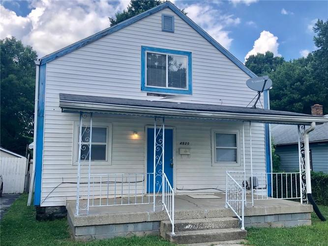 4530 E 18th Street Indianapolis, IN 46218 | MLS 21656383