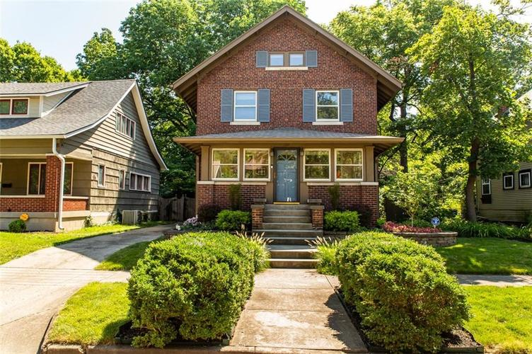 337 N Whittier Place Indianapolis, IN 46219 | MLS 21656444 | photo 1