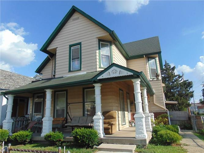 1701  Woodlawn Avenue Indianapolis, IN 46203   MLS 21656475