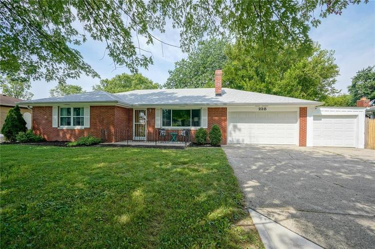 228 KIRK DR W Indianapolis IN 46234 | MLS 21658459 | photo 1