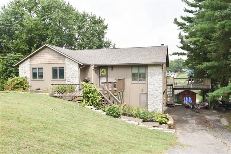 16262 E Lake Shore Drive Hope, IN 47246 | MLS 21658843