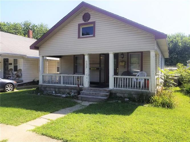 639 N Rochester Avenue Indianapolis, IN 46222 | MLS 21659346 | photo 1