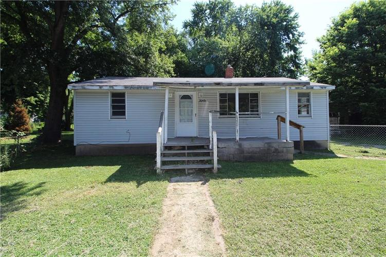 3149  Mars Hill Street Indianapolis, IN 46221   MLS 21659913