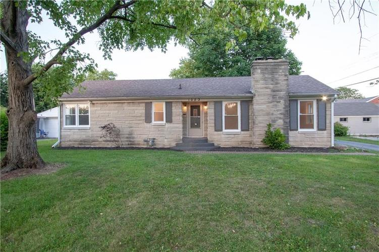 1053 N HARTMAN Drive Indianapolis, IN 46219 | MLS 21659995 | photo 1