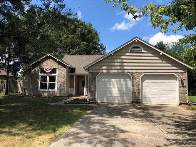 7472  BLUE CREEK SOUTH Drive Indianapolis, IN 46256 | MLS 21660398